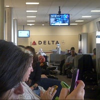 Photo taken at Gate D16 by Junie L. on 9/5/2012