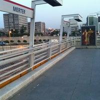 Photo taken at Merter Metro İstasyonu by Hakan on 7/20/2011