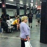 Photo taken at Metro =C= I. P. Pavlova by Jakub M. on 8/16/2011