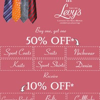 Photo taken at Levy's by Levy's Clothier for Men and Women on 6/15/2012