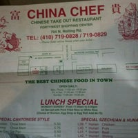 Photo taken at China Chef by Mike O. on 4/22/2012