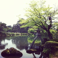 Photo taken at Kenrokuen Garden by timtamko on 5/20/2012