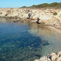 Photo taken at Cala Rotonda by Chiara F. on 8/18/2011