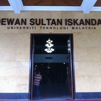 Photo taken at Universiti Teknologi Malaysia (UTM) by M.Feisal A. on 7/24/2011