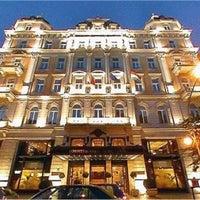 Photo taken at Corinthia Hotel Budapest by Felipe S. on 6/6/2012