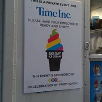 Photo taken at The Big Gay Ice Cream Truck by April K. on 6/14/2012