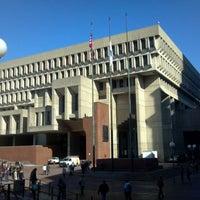 Photo taken at Boston City Hall by Allan K. on 11/2/2011