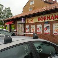 Photo taken at Hörnan by Adam V. on 6/17/2012