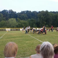 Photo taken at Friends Of Harrison County Youth Baseball Fields by Tim R. on 9/6/2012