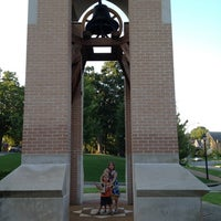 Photo taken at Smith Bell Tower by Jeremy B. on 8/11/2012