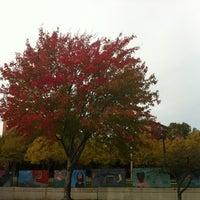 Photo taken at Southwest Corridor Park by Jacob K. on 11/3/2011