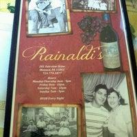 Photo taken at Rainaldis by Tina H. on 8/20/2012