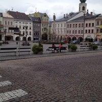 Photo taken at Krakonošovo náměstí by Ger P. on 8/4/2012