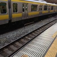 Foto tirada no(a) JR Yoyogi Station por Jinen K. em 2/21/2012