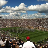 Photo taken at University of Notre Dame by Chris L. on 9/9/2012