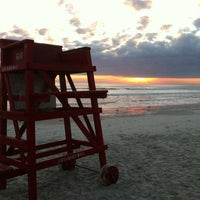 Photo taken at New Smyrna Lifeguard Station by Laura W. on 1/10/2012