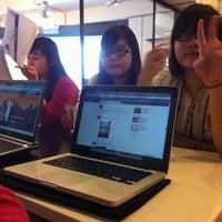 Photo taken at The V Café by Kye T. on 3/8/2012
