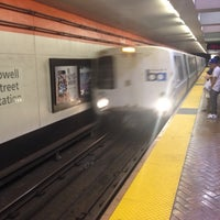 Photo taken at Powell St. BART Station by Chris L. on 7/9/2012