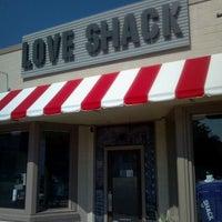 Photo taken at Love Shack by Jake J. on 10/24/2011