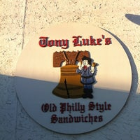 Photo taken at Tony Luke's by Jon-Jon G. on 2/26/2012