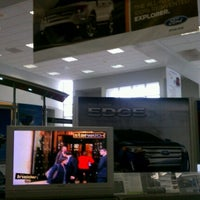 Photo taken at San Leandro Ford Lincoln by Nilaja A. M. on 11/23/2011
