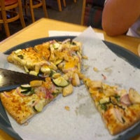 Photo taken at Straw Hat Pizza by Jay A. on 8/20/2012