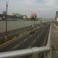 Photo taken at Av. Javier Prado con Av. Guardia Civil by Carlos A. on 1/15/2012