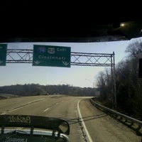 Photo taken at Indiana / Ohio State Line by Marietta R. on 3/10/2012