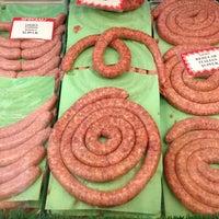 Photo taken at Louie's Finer Meats by Jill N. on 8/11/2012