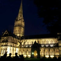 Photo taken at Salisbury Cathedral by Spencer M. on 12/21/2011