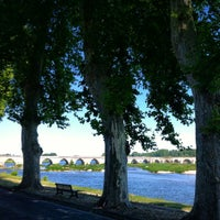 Photo taken at Pont de Beaugency by J_RO_N on 7/23/2012