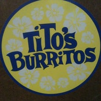 Photo taken at Tito's Burritos & Wings by Michael H. on 1/8/2012