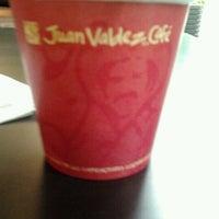 Photo taken at Juan Valdez Café by Daniela R. on 1/23/2012