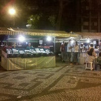 Photo taken at Feira Noturna do Champagnat by Rafael on 12/23/2011