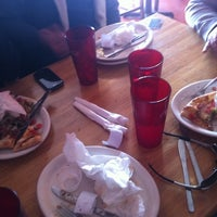 Photo taken at Mia's Pizza & Eats by Marissa S. on 1/28/2012