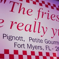 Photo taken at Five Guys by Christopher W. on 3/27/2012