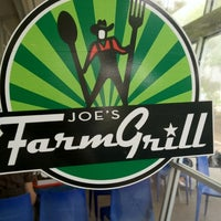 Photo taken at Joe's Farm Grill by Calvin F. on 8/15/2012