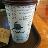 Photo taken at Caribou Coffee by Jarrah A. on 7/3/2012