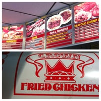 Photo taken at Crown Fried Chicken by Nick B. on 8/13/2012
