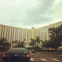 Photo taken at Rosen Plaza Hotel by Paul D. on 7/31/2012