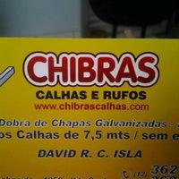 Photo taken at Chibras Calhas by Maryelen C. on 9/11/2012