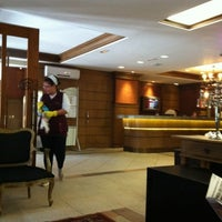 Photo taken at Bavária Sport Hotel by Gisele L. on 7/21/2012