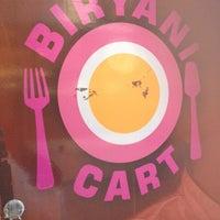 Photo taken at Biryani Cart by Jamille I. on 2/20/2012