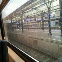Photo taken at Intercity Groningen - Den Haag Centraal by Maartje M. on 2/13/2012