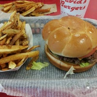 Photo taken at David's Burgers by Jake T. on 5/11/2012