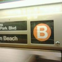 Photo taken at MTA Subway - B Train by Daniel S. on 5/8/2012