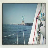 Photo taken at MYC Manhattan Yacht Club by donna w. on 5/26/2012