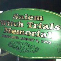 Photo taken at Salem Witch Trials Memorial by Craig L. on 2/21/2012
