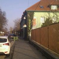 Photo taken at HOTEL ATRIUM - Vyškov by Marek R. on 3/2/2012