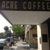 Photo taken at Acre Coffee by @iamkhayyam on 4/27/2012